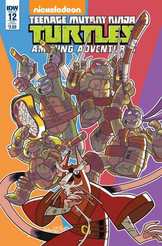 Teenage Mutant Ninja Turtles: Amazing Adventures #12 (Subscription Cover)