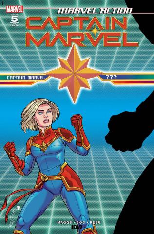 Marvel Action: Captain Marvel #5 (10 Copy Megan Levens Cover)