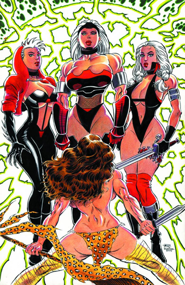 Cavewoman: Sisters of the Arena #2 (Durham Cover)