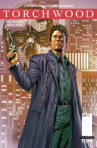 Torchwood: The Culling #3 (Diaz Cover)