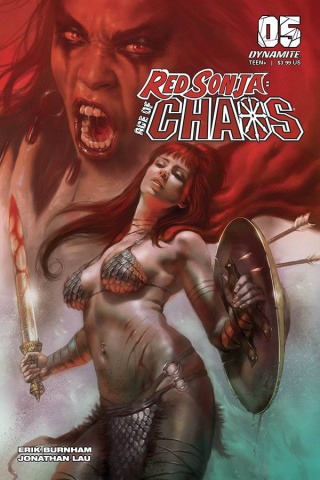 Red Sonja: Age of Chaos #5 (Parrillo Cover)
