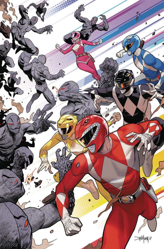 Go, Go, Power Rangers! #1 (50 Copy Mora Cover)