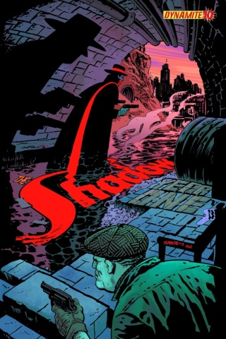 The Shadow: Year One #10 (Samnee Cover)