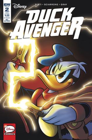 Duck Avenger #2 (Subscription Cover)