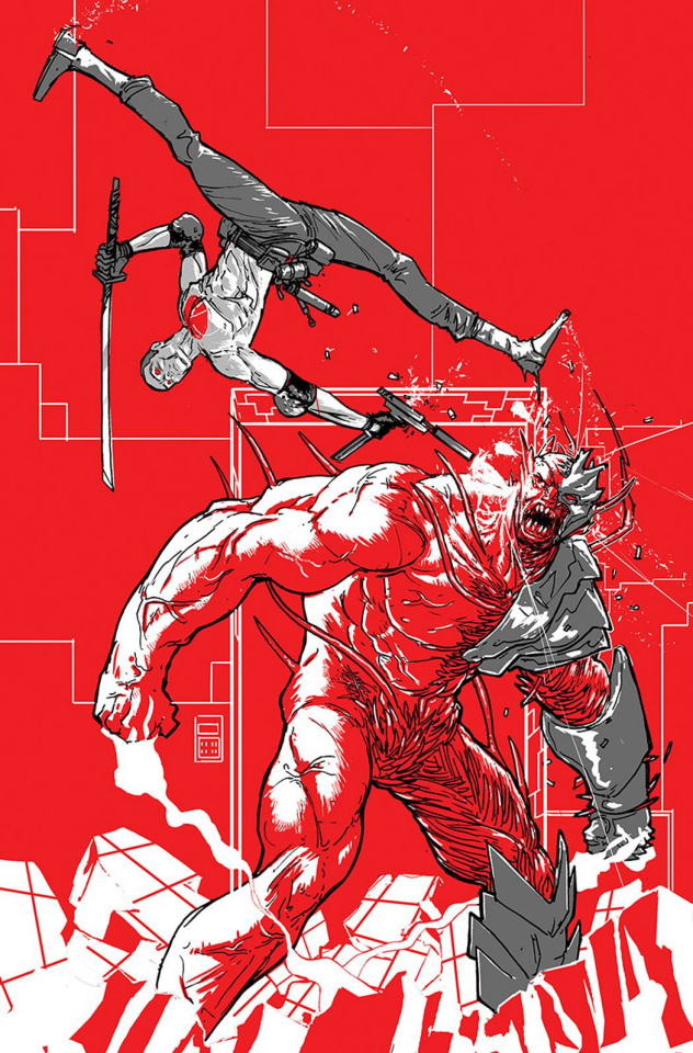 Armor Hunters: Bloodshot #3 (20 Copy Rossmo Cover)