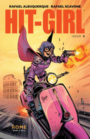 Hit-Girl #9 (Albuquerque Cover)