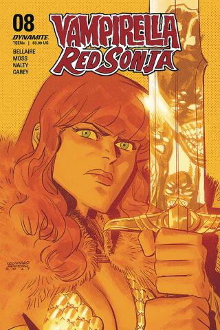 Vampirella / Red Sonja #8 (Romero Cover)