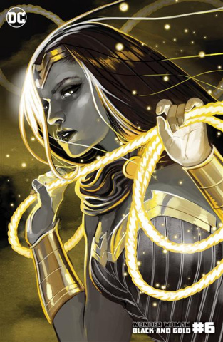 Wonder Woman: Black and Gold #6 (Stephanie Hans Cover)