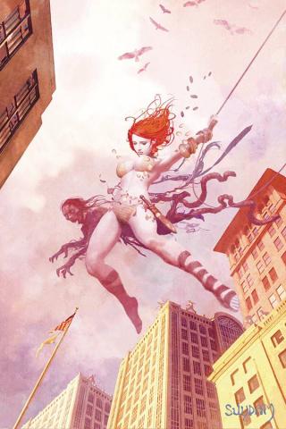DIE!namite #3 (15 Copy Suydam Non-Zombie Homage Virgin Cover)