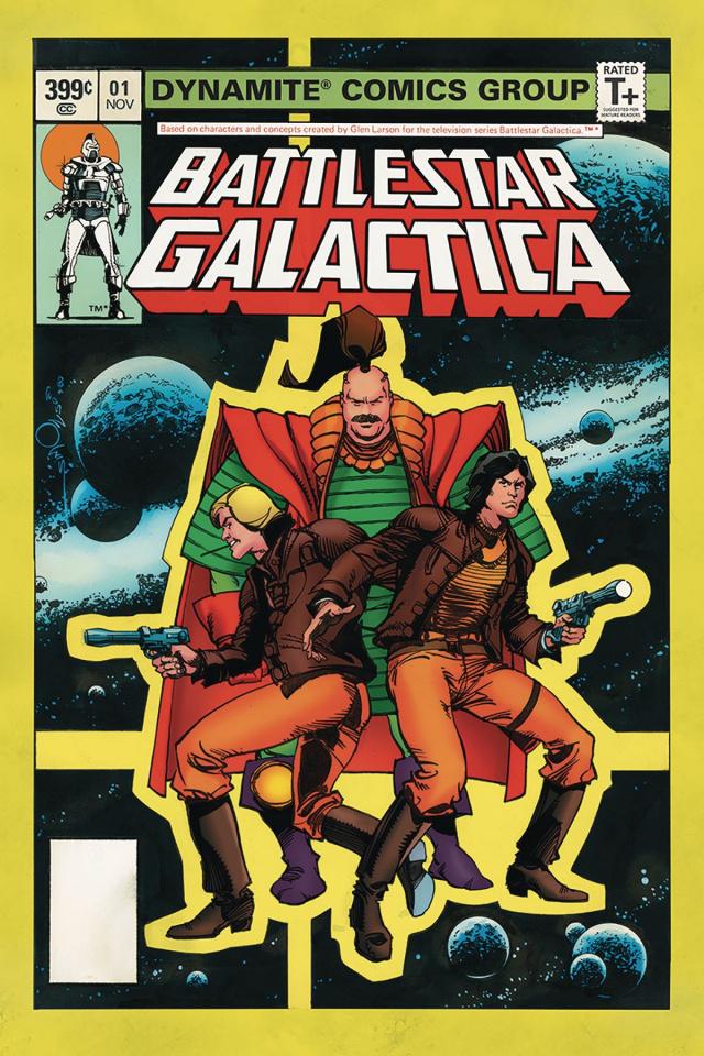 Battlestar Galactica Classic #1 (Simonson Cover)