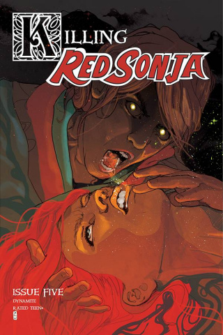 Killing Red Sonja #5 (Ward Cover)