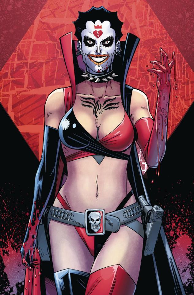 Harley Quinn and Her Gang of Harleys #4