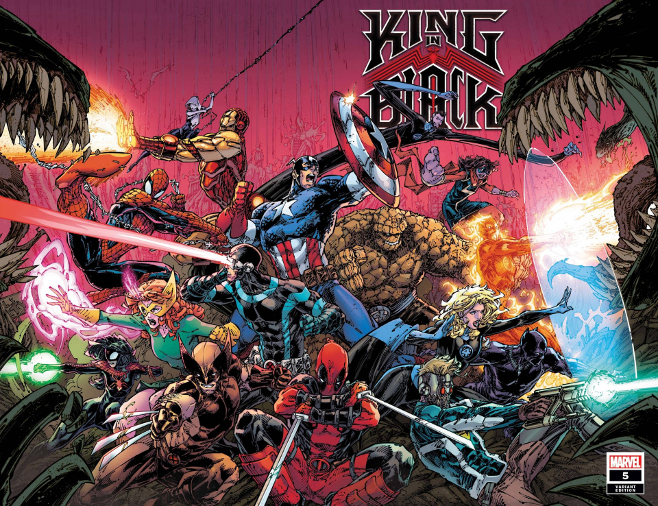 King in Black #5 (Booth Wraparound Cover)