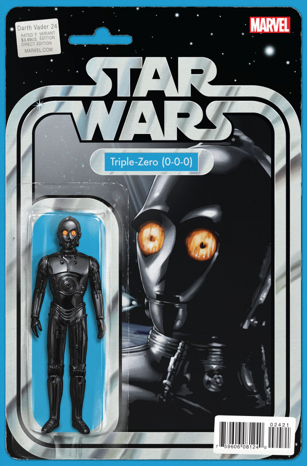 Darth Vader #24 (Christopher Action Figure Cover)