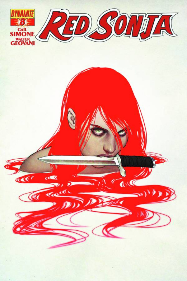 Red Sonja #8 (Frison Cover)