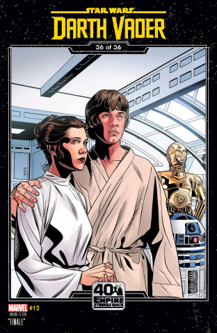 Star Wars: Darth Vader #12 (Sprouse Empire Strikes Back Cover)