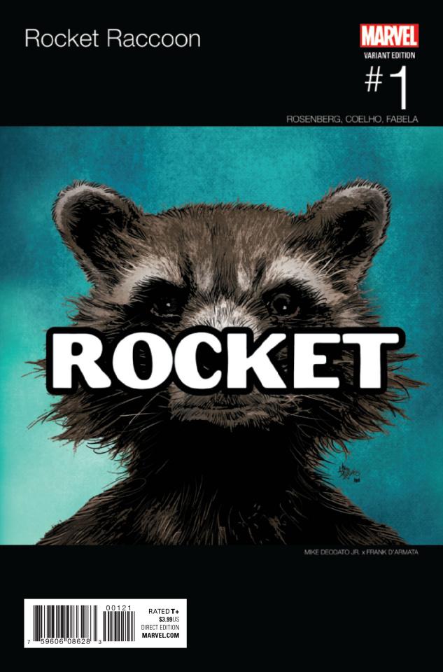 Rocket Raccoon #1 (Deodato Hip Hop Cover)