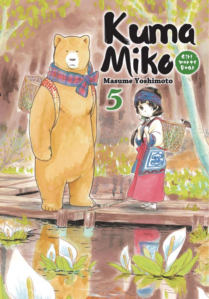 Kuma Miko Vol. 5