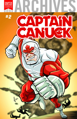 Chapter House Archives #2: Captain Canuck (Constantini Cover)