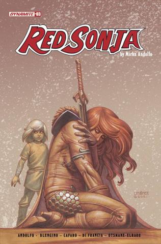 Red Sonja #3 (Linsner Cover)