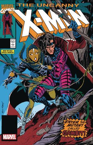 Uncanny X-Men #266 (Facsimile Edition)