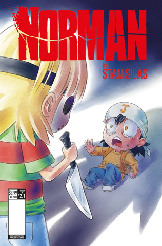 Norman: The First Slash #1 (Leong Cover)