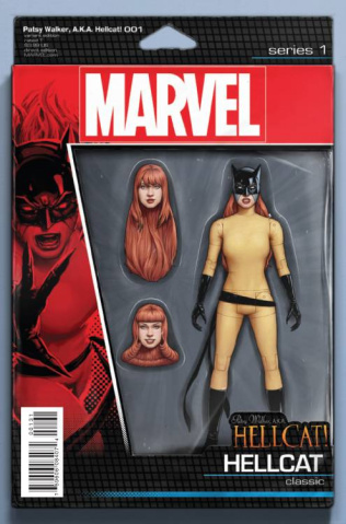 Patsy Walker, a.k.a. Hellcat #1 (Christopher Action Figure Cover)