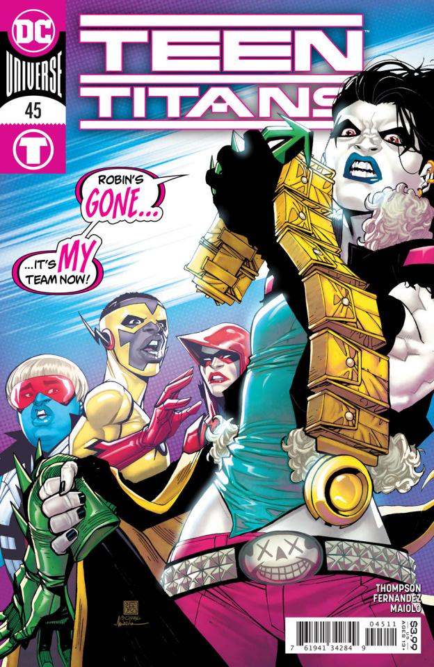 Teen Titans #45 (Bernard Chang Cover)