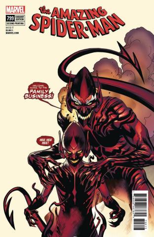 The Amazing Spider-Man #799 (Immonen 2nd Printing)
