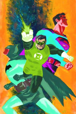 Batman / Superman #24 (Green Lantern 75th Anniversary Cover)