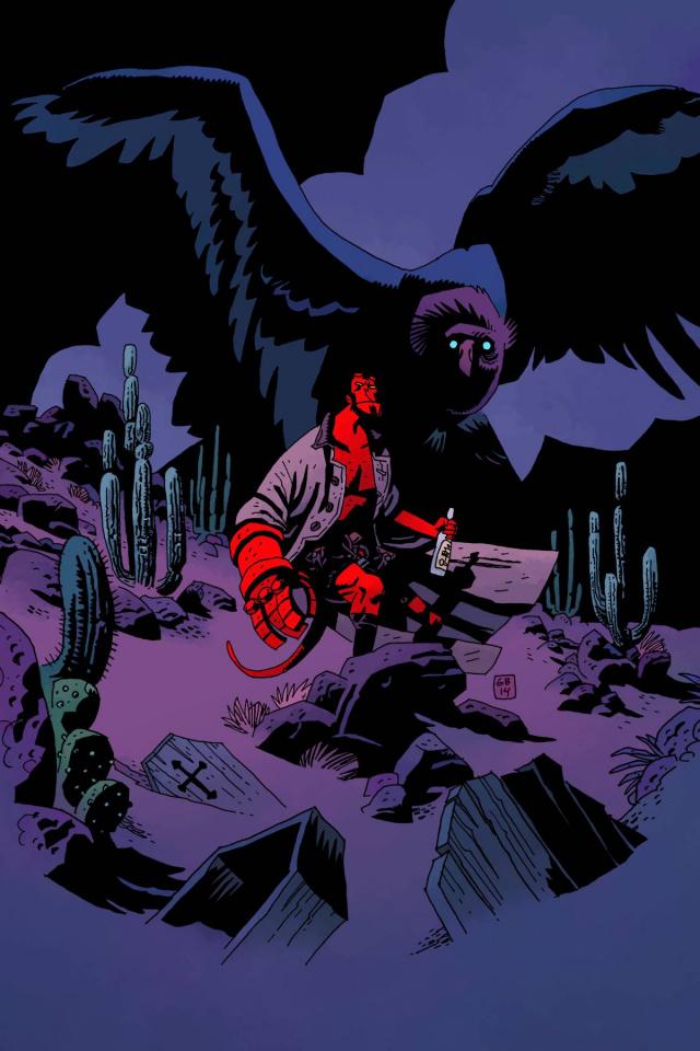 Dark Horse Presents 2014 #7 (Mignola Cover)