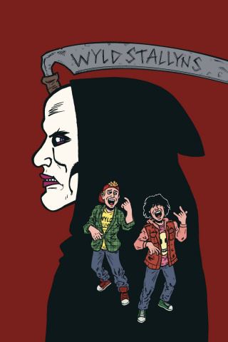 Bill & Ted Are Doomed #2 (Dorkin Cover)