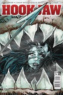 Hookjaw #4 (Mandrake Cover)