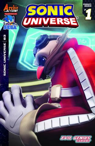 Sonic Universe #83 (Rafa Knight Cover)