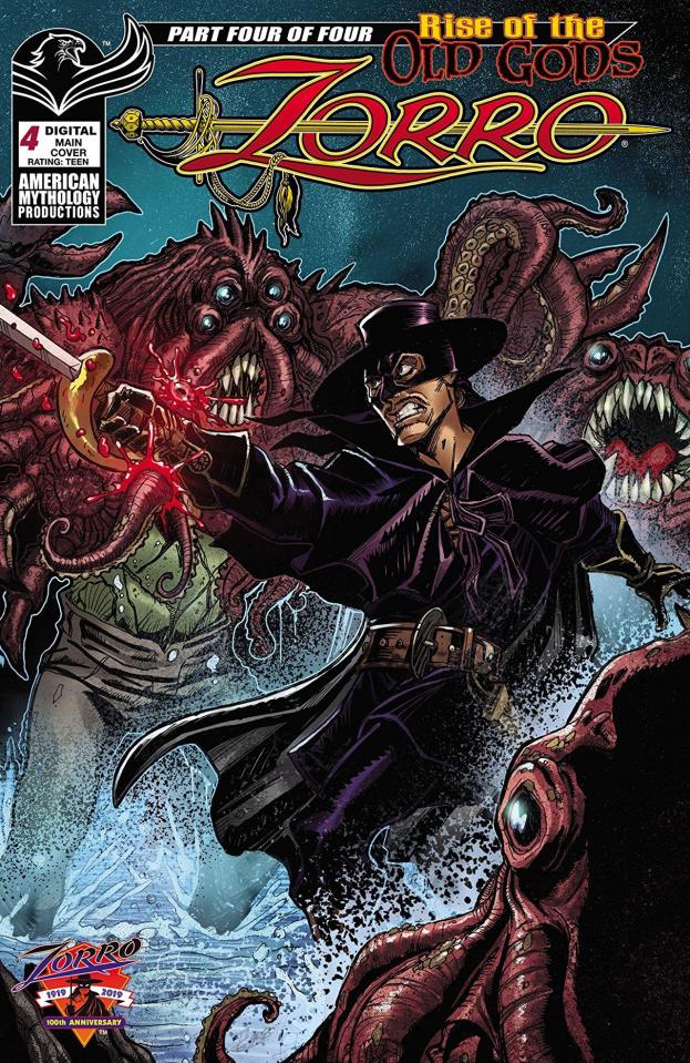 Zorro: Rise of the Old Gods #4 (Calzada Cover)