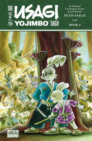 The Usagi Yojimbo Saga Vol. 4