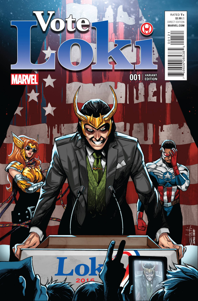 Vote Loki #1 (Schitti Cover)