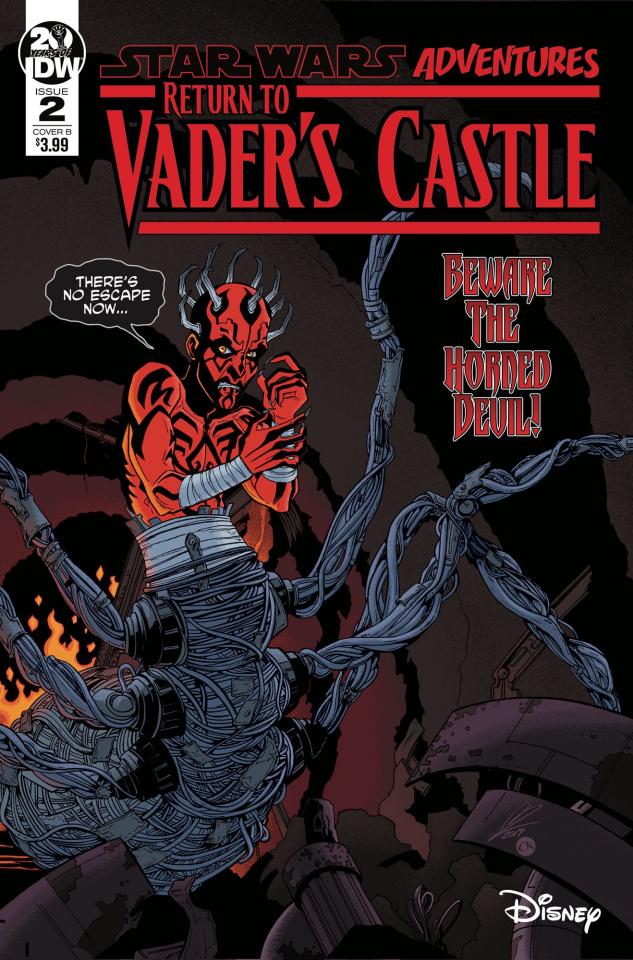 Star Wars Adventures: Return to Vader's Castle #1 (Levens Cover)