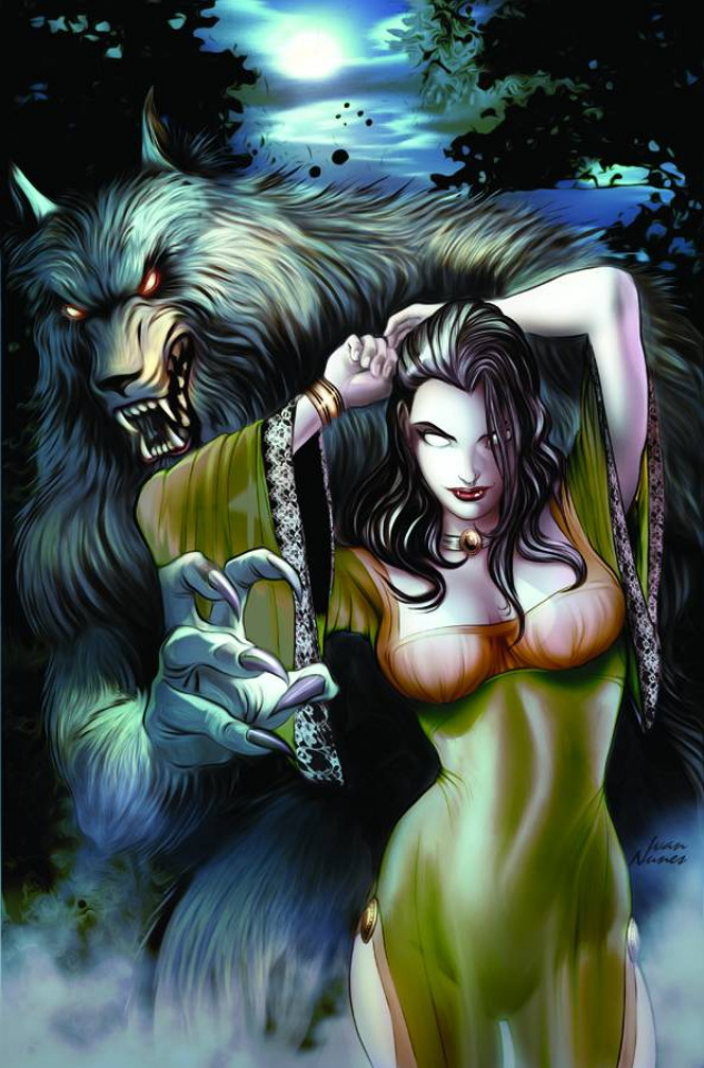 Grimm Fairy Tales: Unleashed #1 (Nunes Cover)