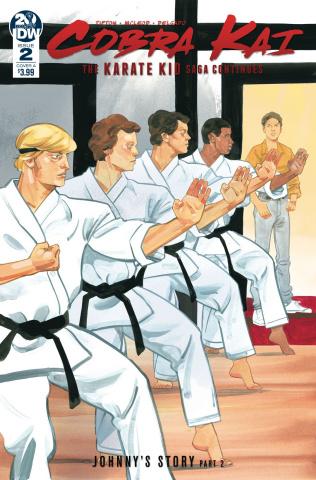 Cobra Kai: The Karate Kid Saga Continues #2 (McLeod Cover)