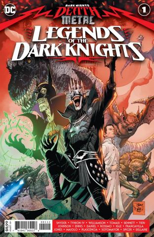 Dark Nights: Death Metal - Legends of the Dark Knights #1 (Tony S Daniel Recolored 2nd Printing