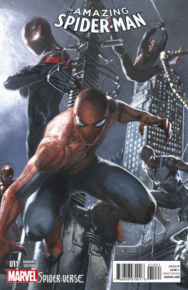 The Amazing Spider-Man #11 (Dell'Otto Cover)