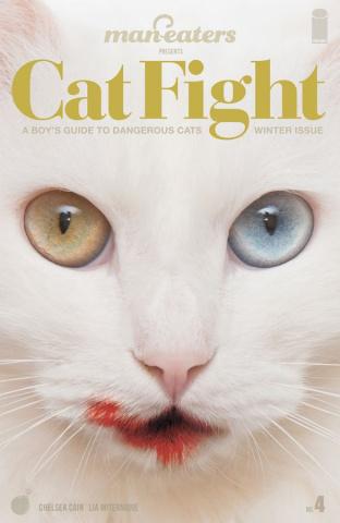 Man-Eaters #4 (Miternique Cover)