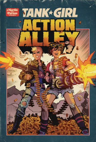Tank Girl: Action Alley #3 (Parson Cover)