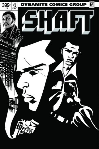 Shaft #1 (30 Copy Oeming B&W Cover)