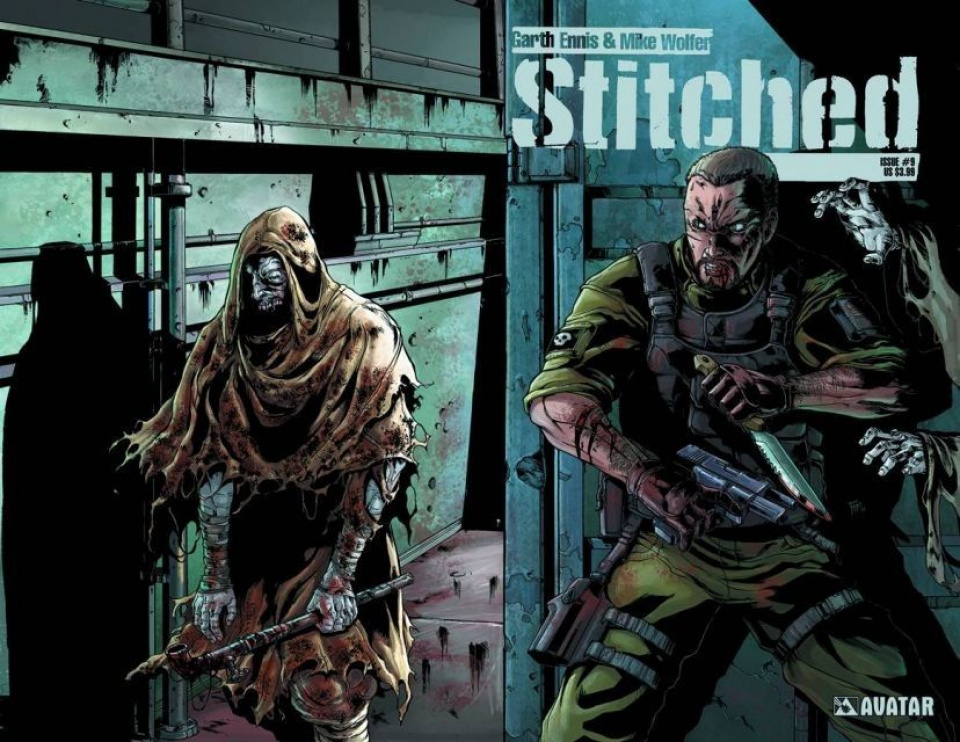 Stitched #9 (Wrap Cover)