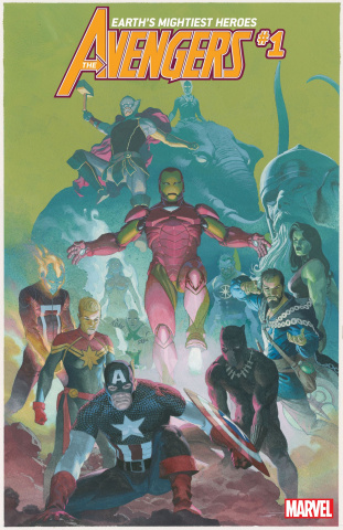 Avengers #1 (Ribic Cover)