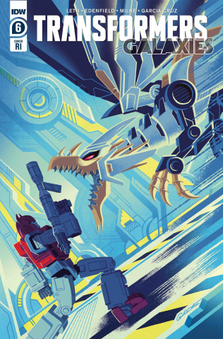 The Transformers: Galaxies #6 (10 Copy Caltsoudas Cover)