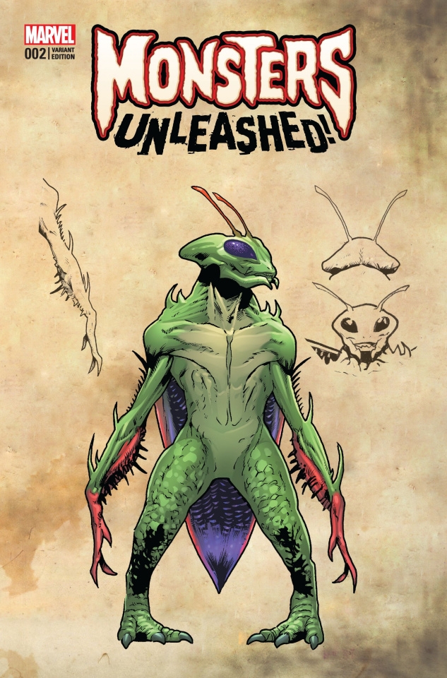 Monsters Unleashed! #2 (Yu Monster Cover)