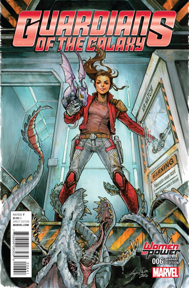 Guardians of the Galaxy #6 (Oum Cover)